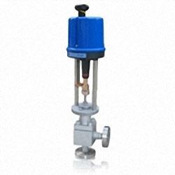 ZDLS型PN160~PN420电子式电动高压角形(单级、多级)调节阀