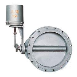 ZDLW-6B型PN1~PN10电子式电动调节蝶阀