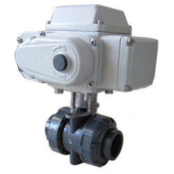 Q911X型电动塑料丝扣球阀PN10~PN16