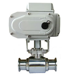 Q981F-10P电动卫生级球阀