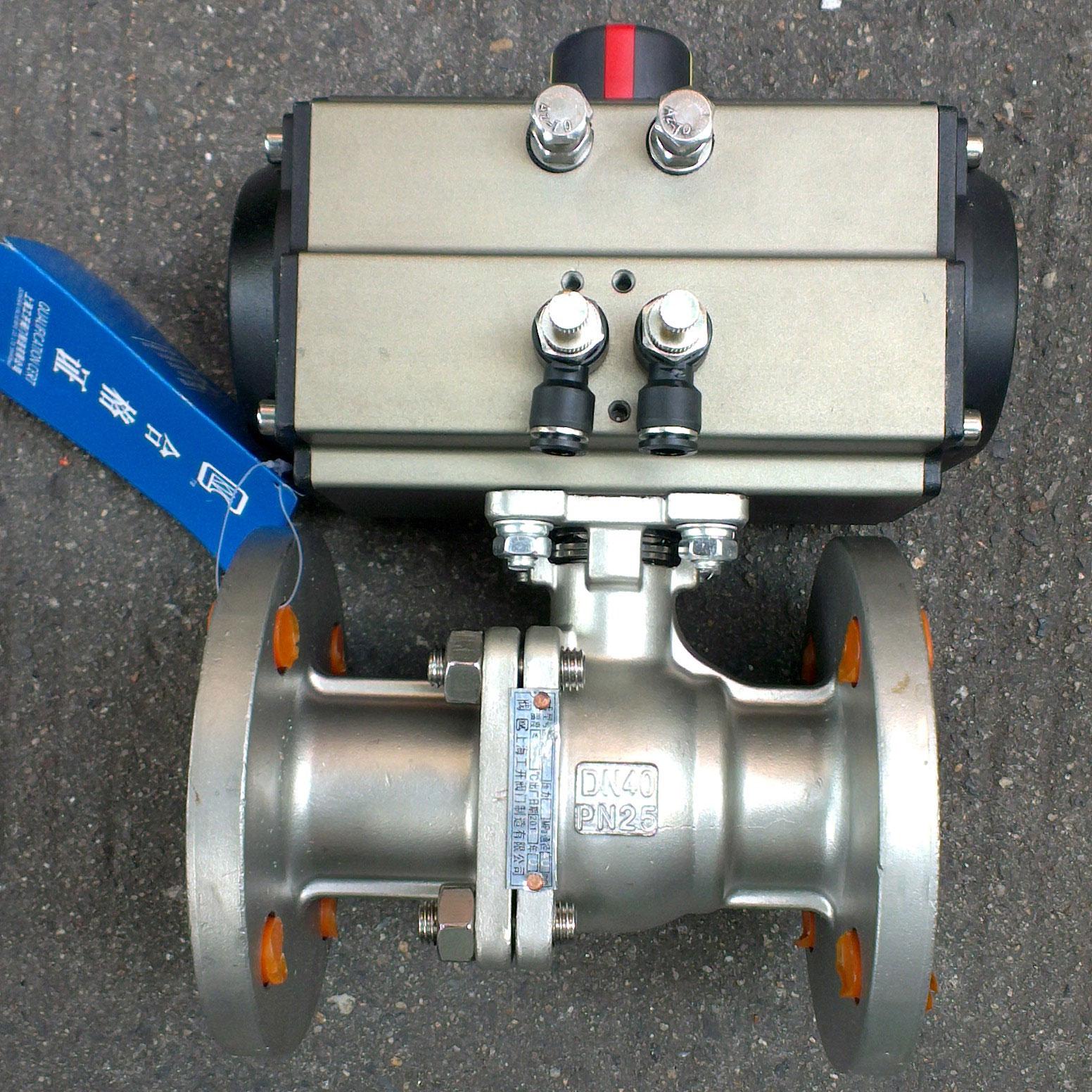 Q641F型气动切断O型球阀