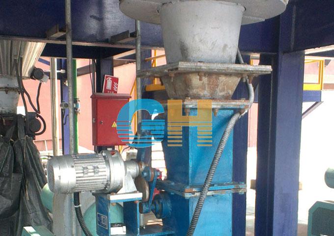 电动双层锁风翻板卸灰阀-上海固废处理