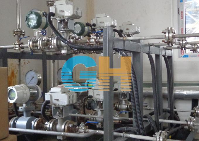 电动V型调节球阀-东亿热电厂2