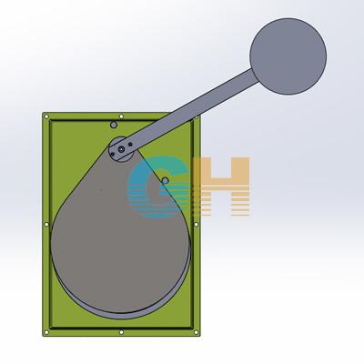 V型浮筒式调节型截流阀、限流阀