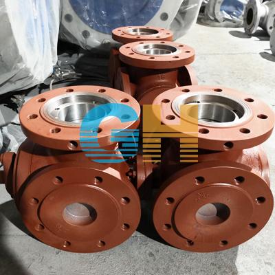 碳钢联动三通球阀、SQ45F双联动三通球阀