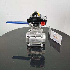 手动信号螺纹球阀,三片式内螺纹丝扣手动球阀,XQ11F-16P手动信号反馈球阀