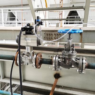 Q941P-16P气动切断球阀-电厂烟气取样吹扫球阀-电厂喷
