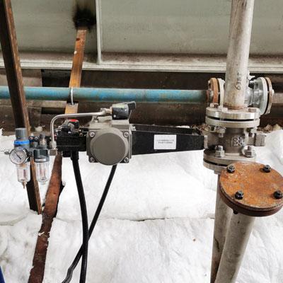 VQ647Y-16P-DN50-V型气动取样球阀-电厂烟气取样喷氨优