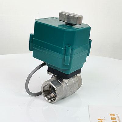 CTF-001电动球阀 不锈钢电动二通球阀