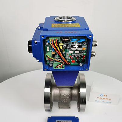 VQ947Y-16P-电动V型球阀-电动V型不锈钢调节球阀