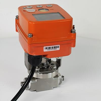 GHJ9191F-16P电动针型调节阀 小流量电动调节阀 微型电
