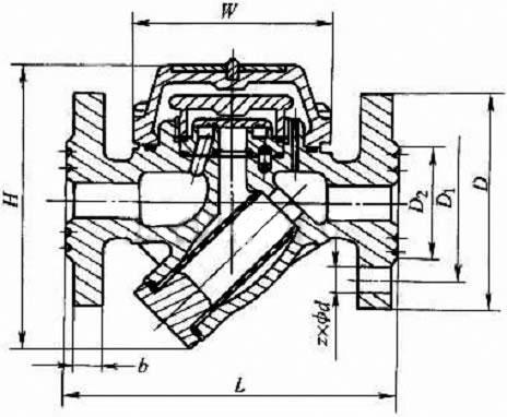 cs49h型圆盘式蒸汽疏水阀pn16~pn40图片